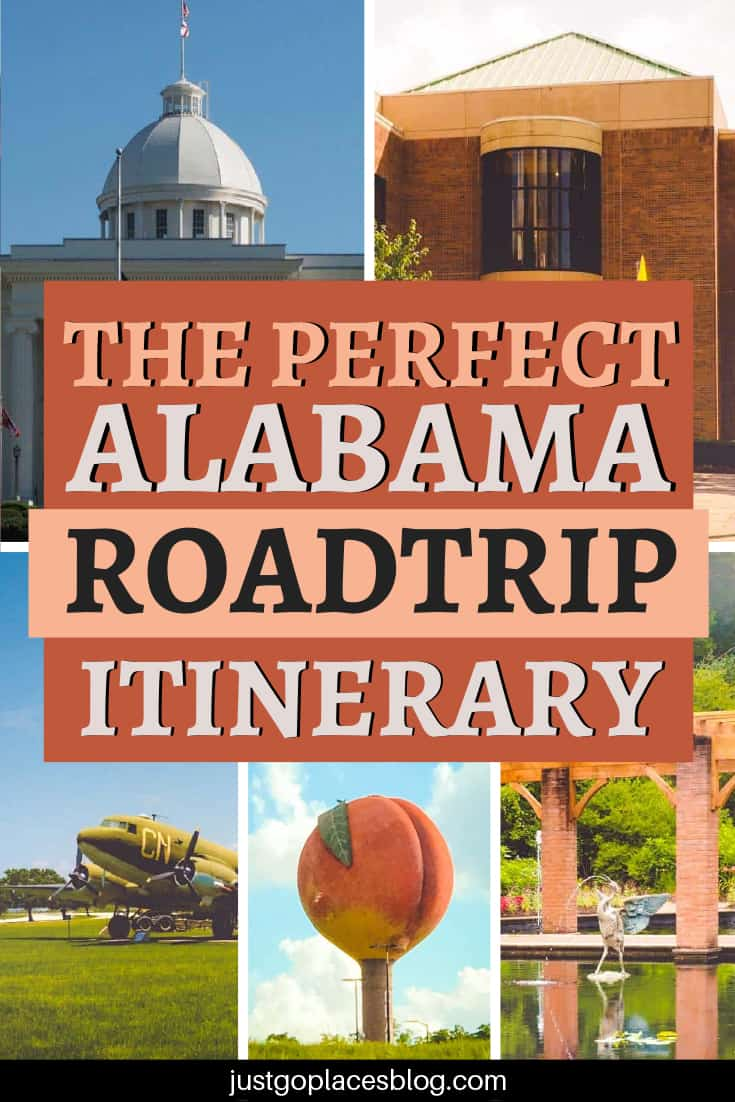 The perfect alabama roadtrip itinerary