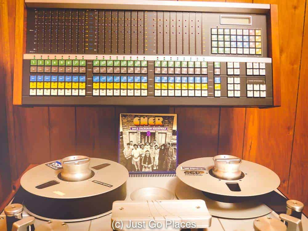 The Cher 3614 Jackson Highway record album gave the name to this Muscle Shoals Recording Studio
