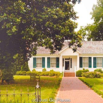 A visit to Ivy Green, the birthplace of Helen Keller, is one of the great things to do in North Alabama