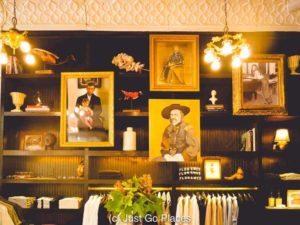 The Billy Reid store is a highlight of downtown Florence Alabama