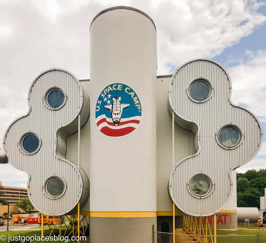 sign for space camp at the Huntsville Alabama Nasa centre