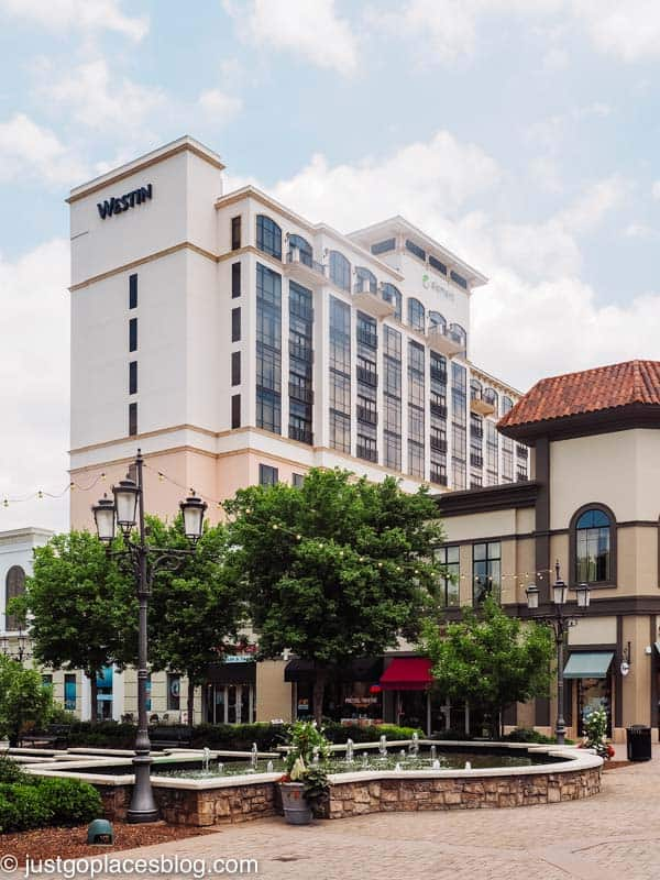 The Westin and the Element share a hotel complex In Huntsville Alabama