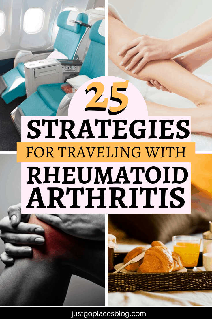 25 strategies for traveling with Rheumatoid arthritis