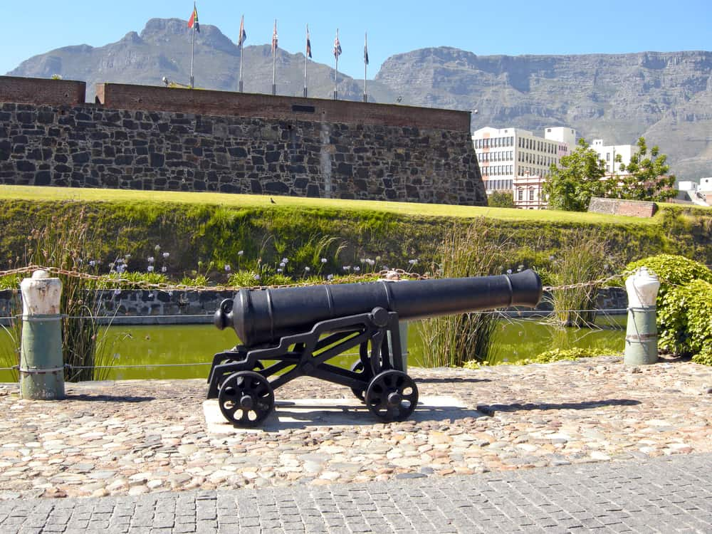 Castle of Good Hope in Cape Town South Africa