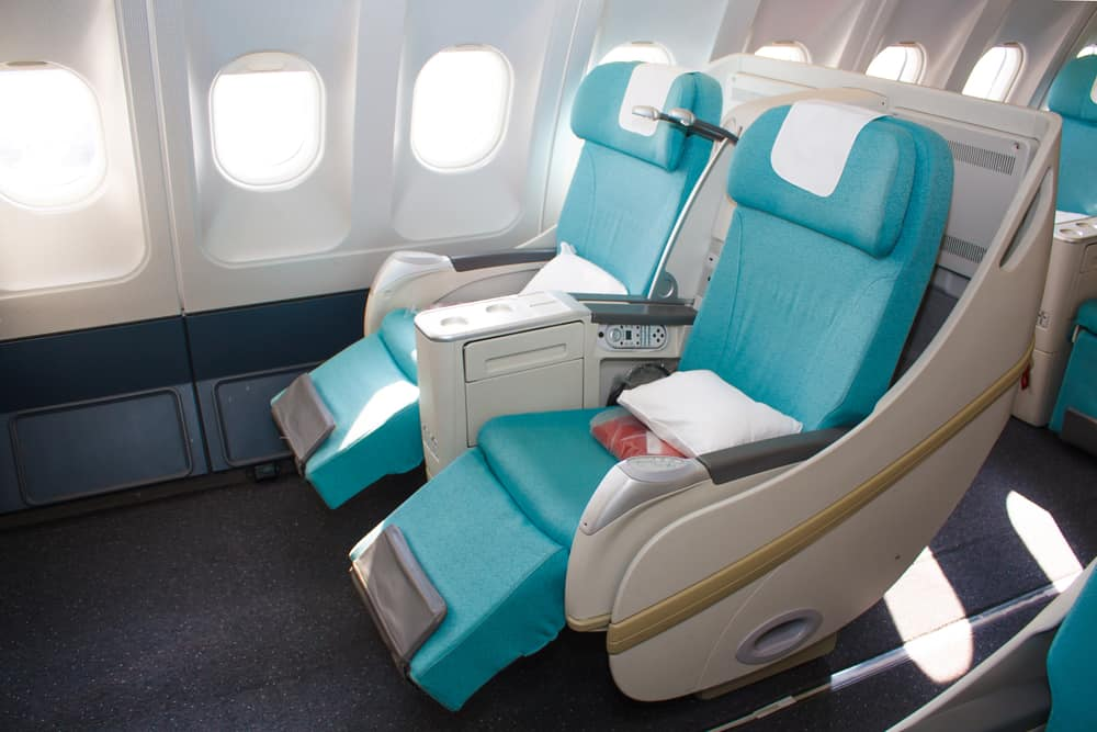 extra legroom in business class