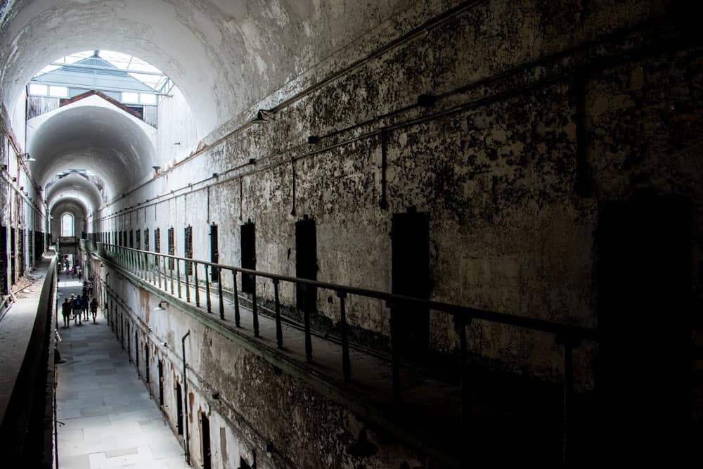 Eastern State Penitentiary cells
