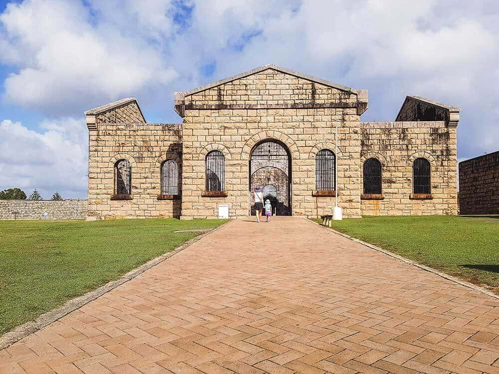 Trial Bay Gaol in New South Wales, Australia