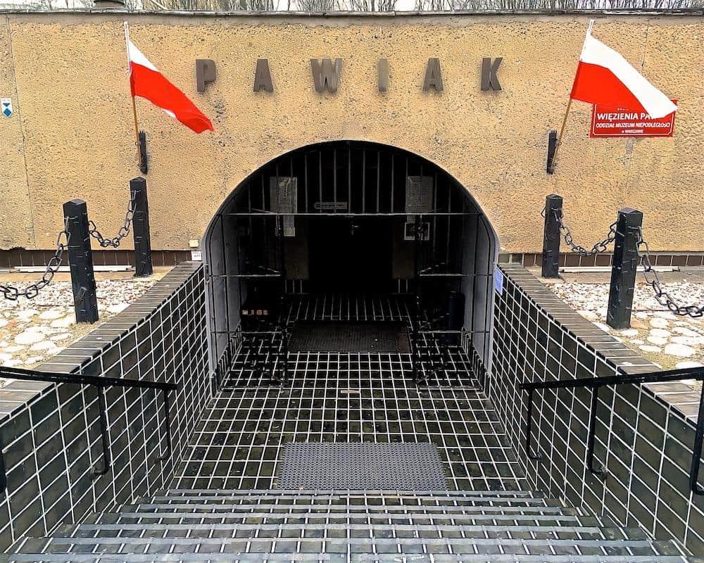 Pawiak Prison Warsaw Poland