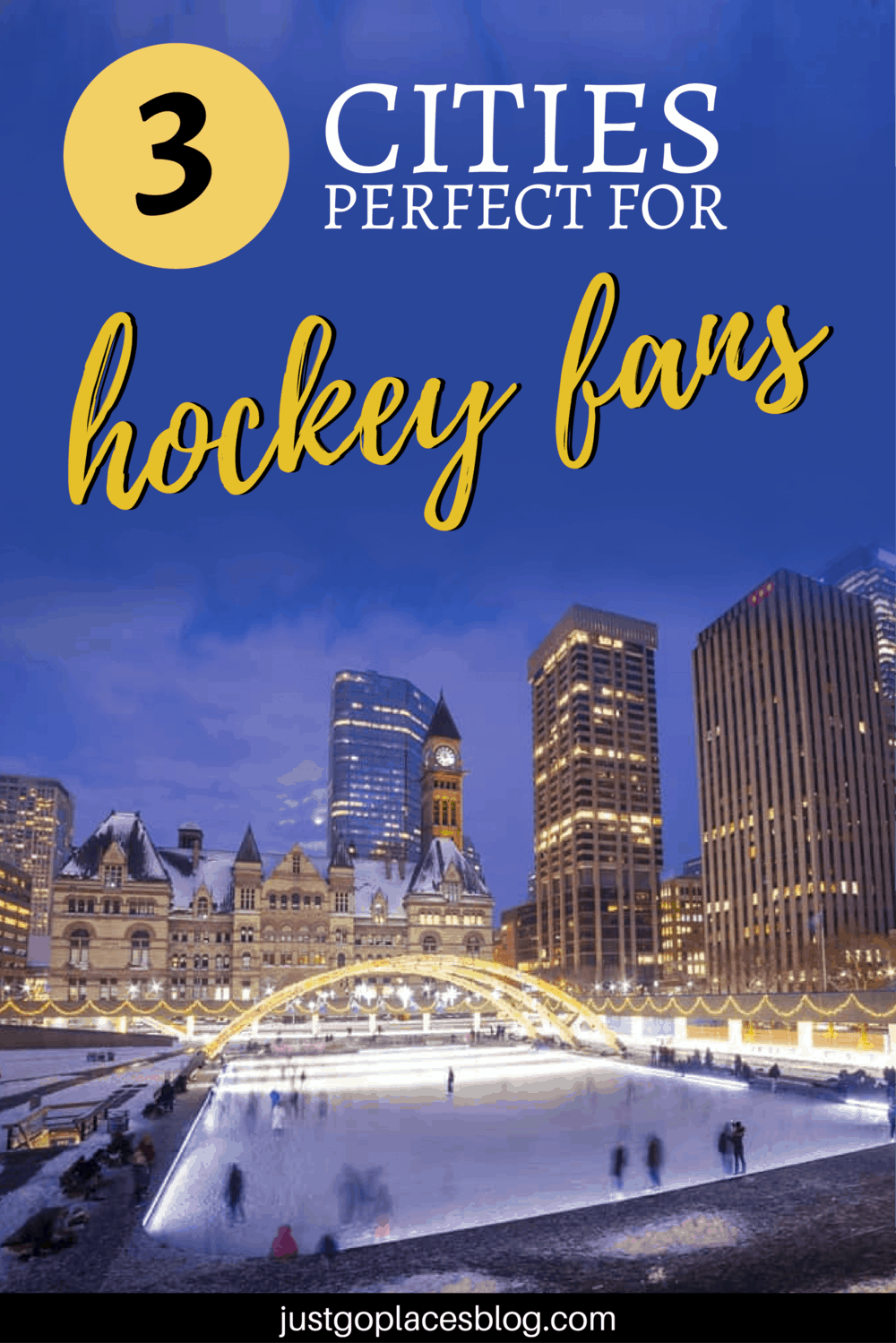 3 cities perfect for hockey fans