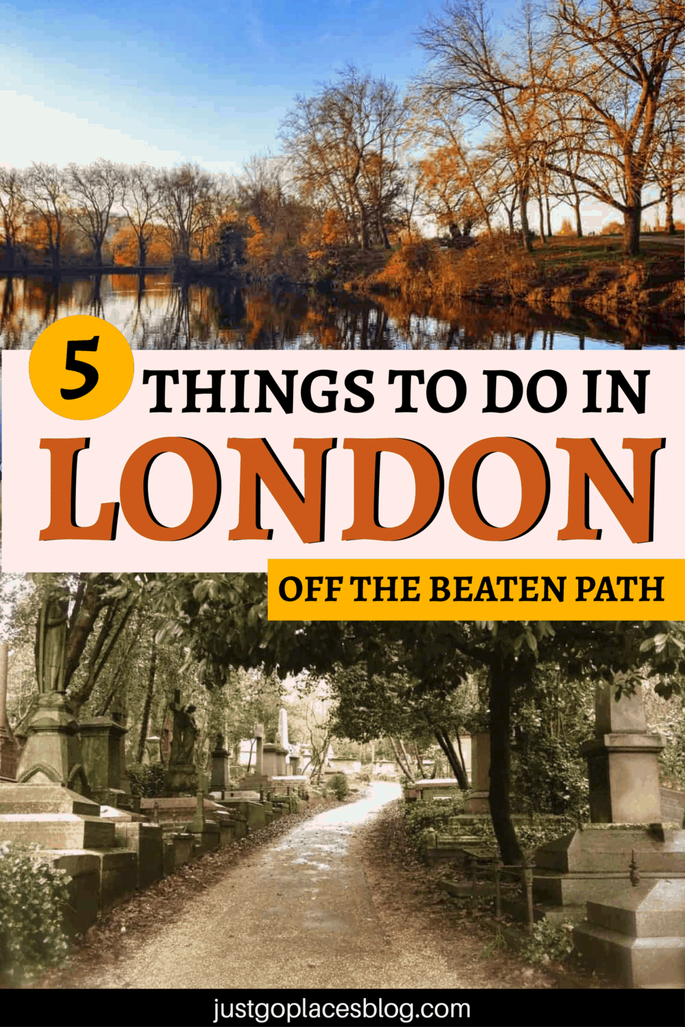5 things to do in London off the beaten path