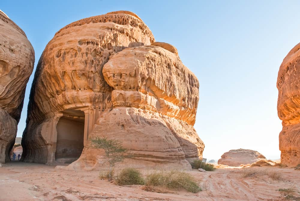 Madain Saleh has Nabatean tombs