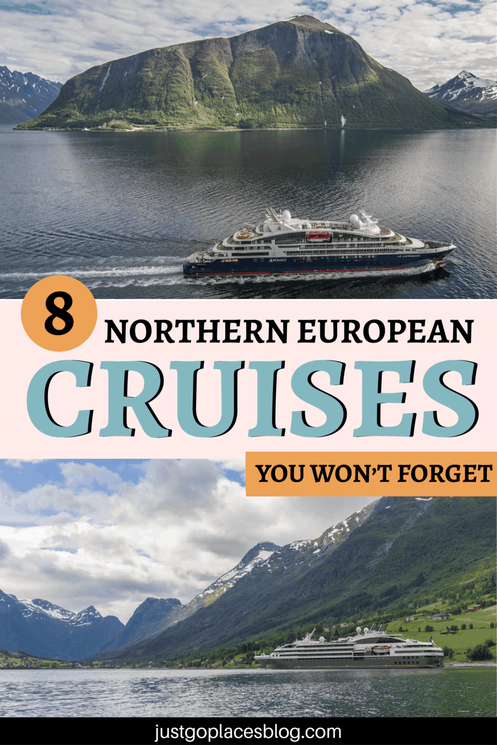 8 Northern European Cruises