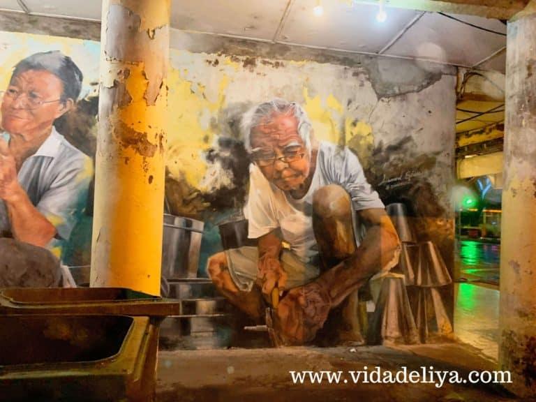 Kuching Street Art China Street