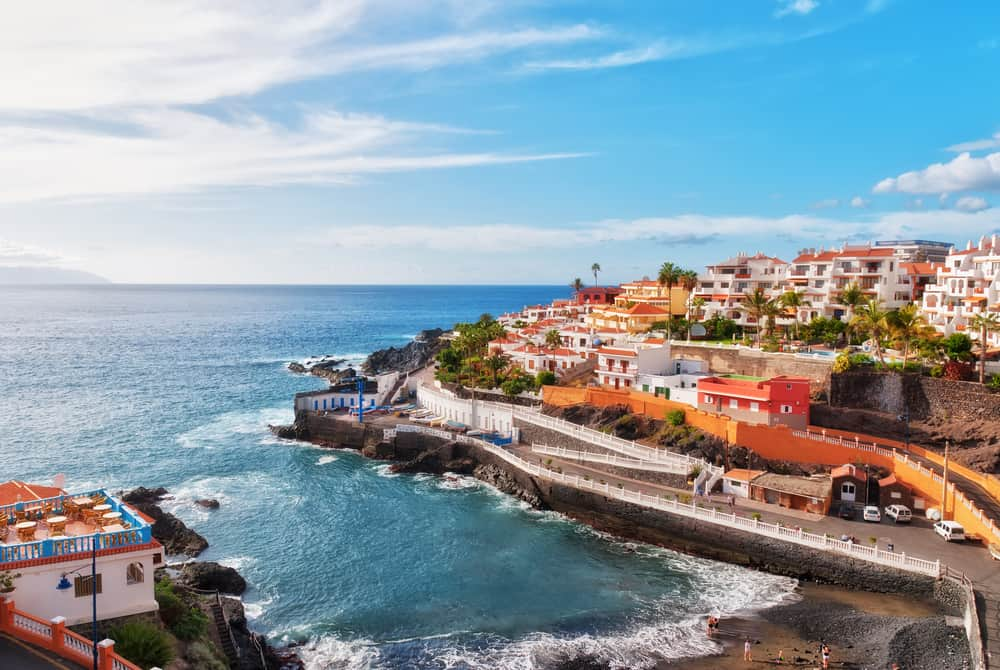 Tenerife in the Spanish Canary Islands