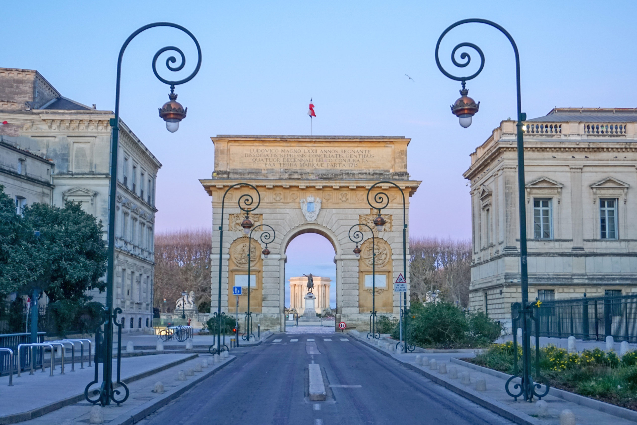 Port de Peyrou in Montpellier, France