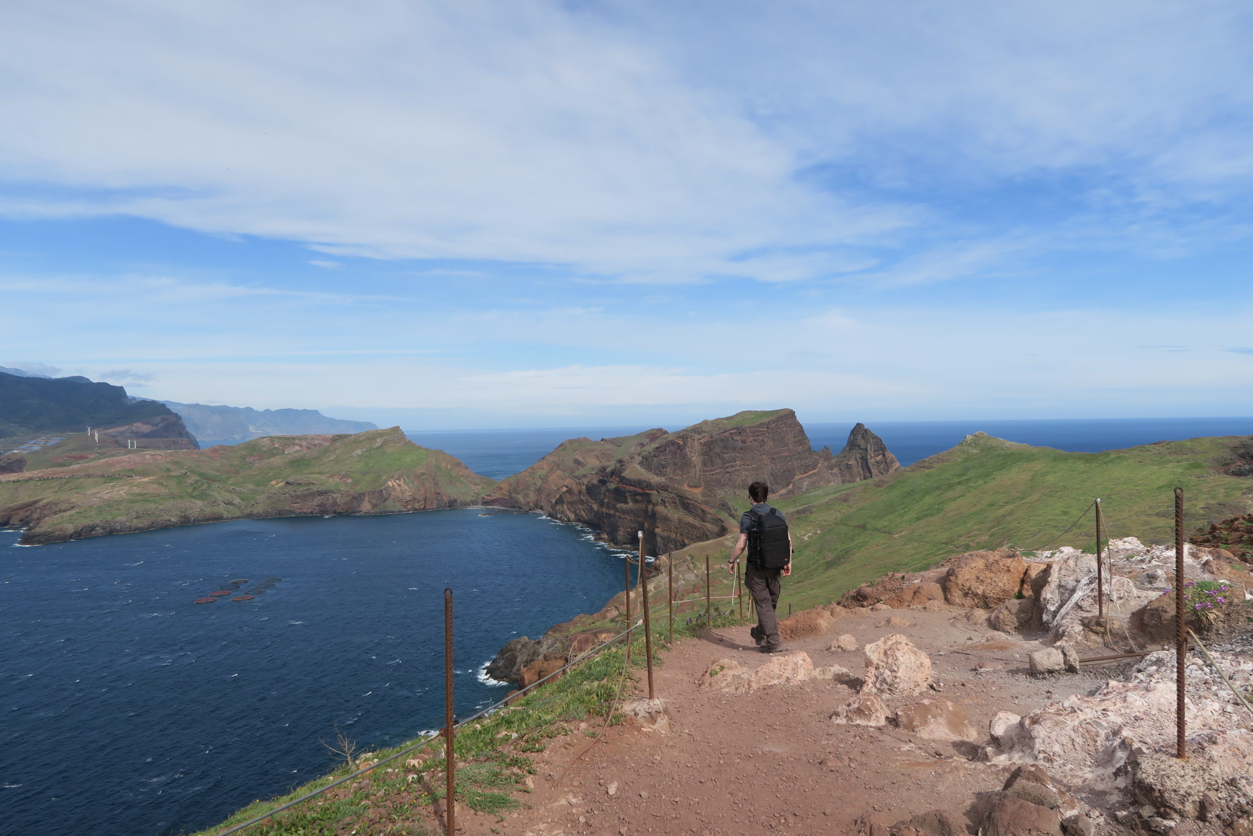 Hiking in Madeira, Portugal