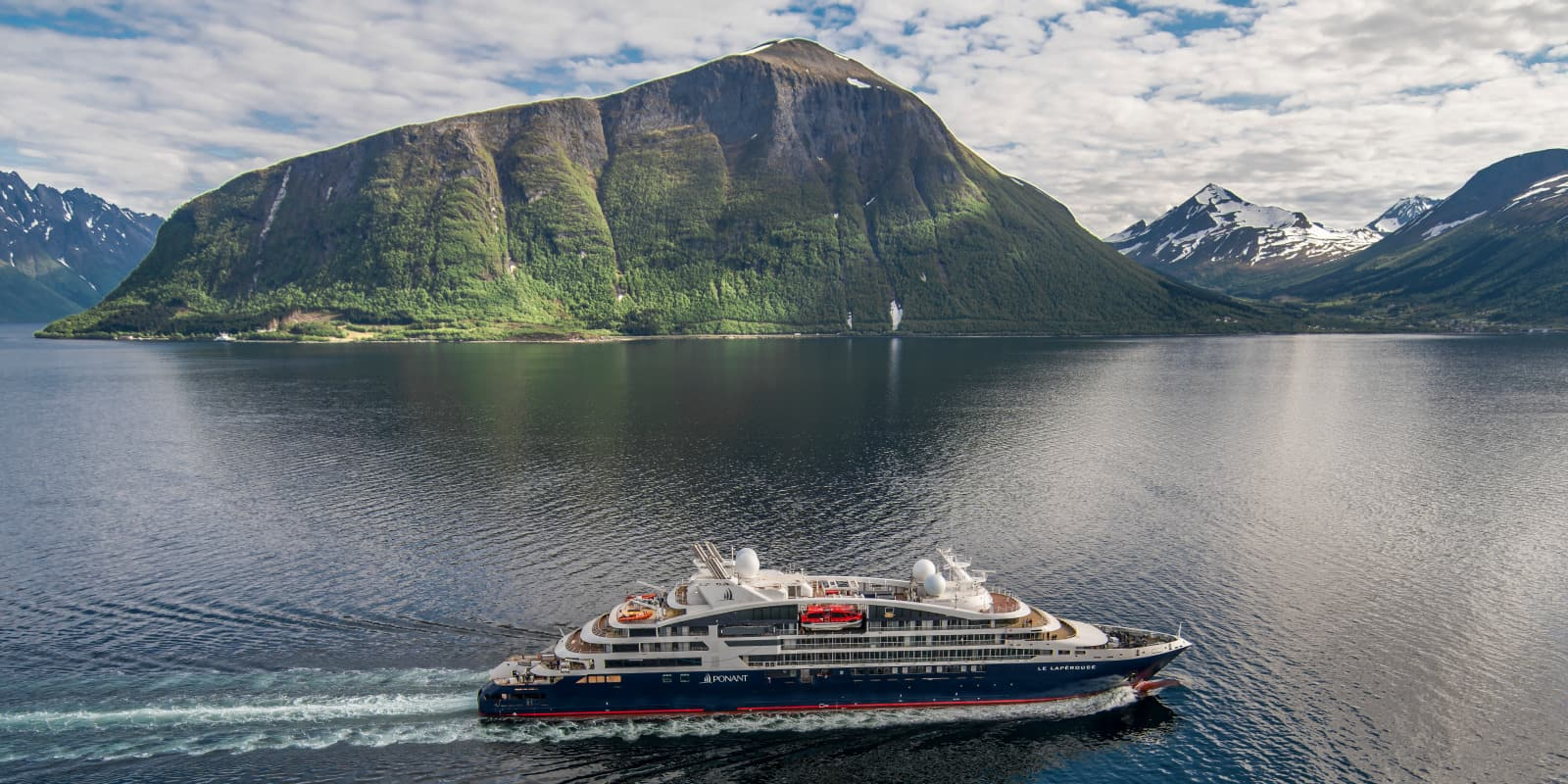 Norwegian fjords Ponant cruise