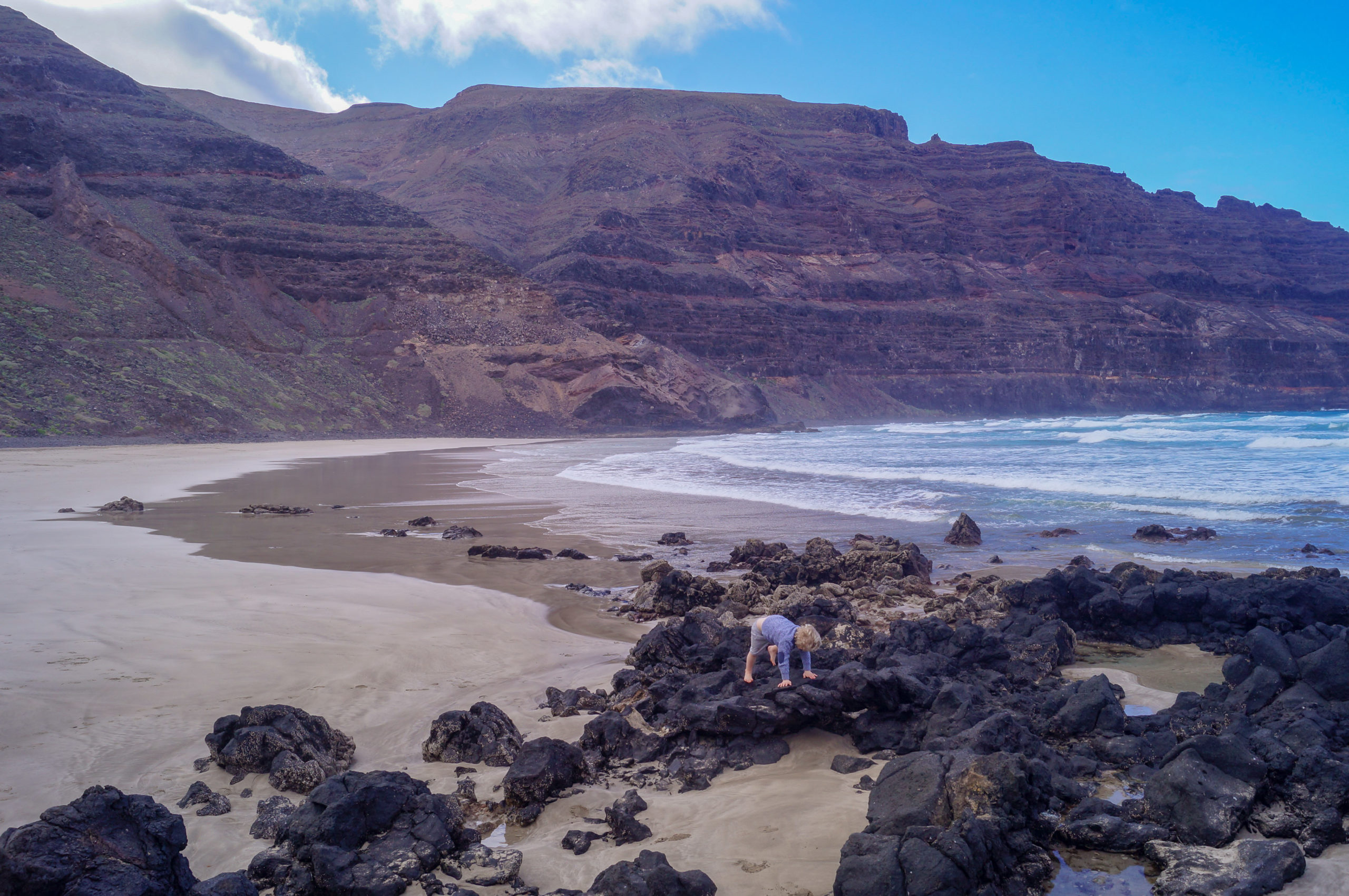 Orzola Beach, Lanzarote, The Canary Islands
