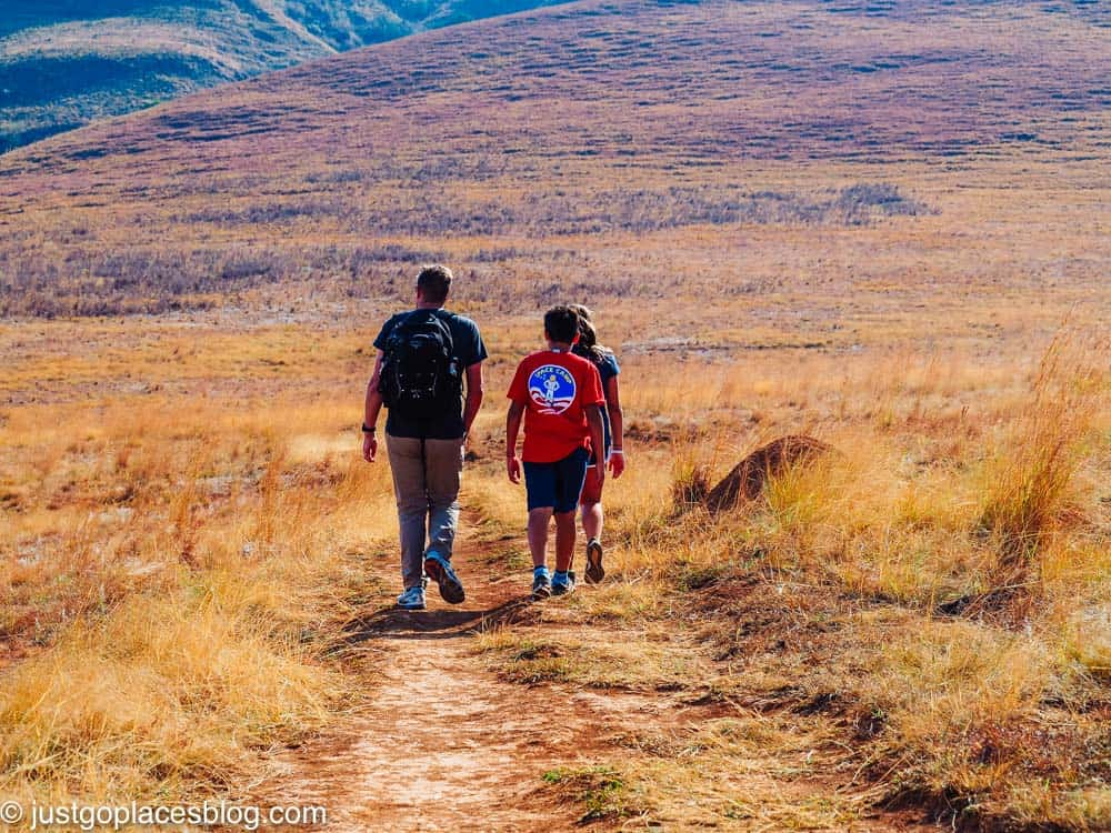 hiking in South Africa