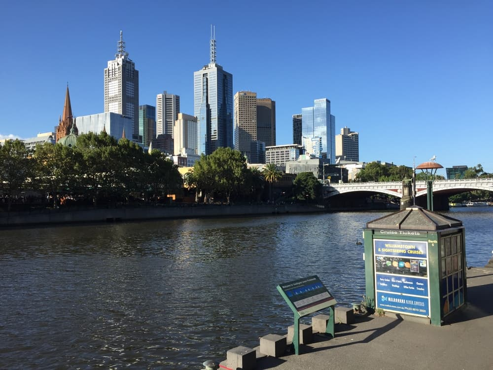 The Yarra River in Melbourne
