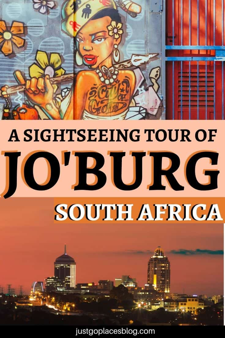 sightseeing tour of Joburg South Africa