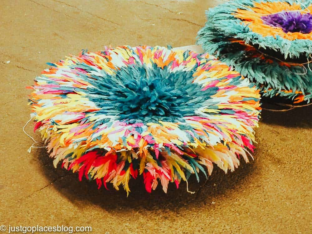 colorful juju hats