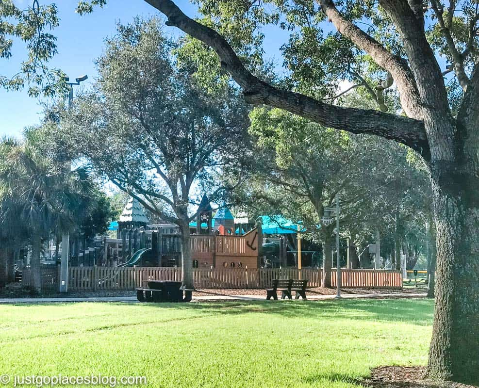 Cambier Park in Naples Florida