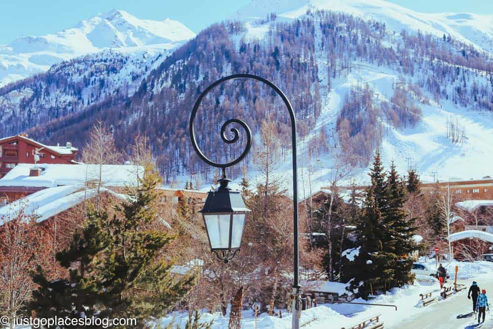 the village at Val d'Isere