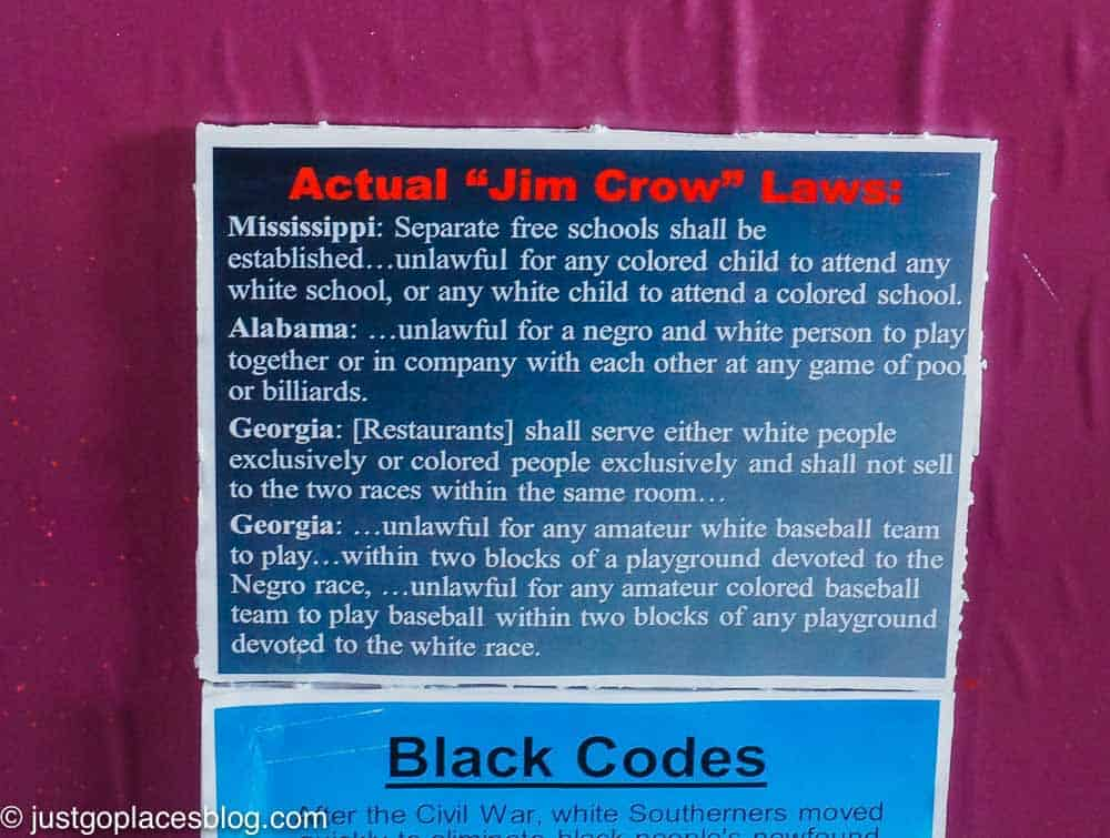 Actual Jim Crow Laws from the Southern States