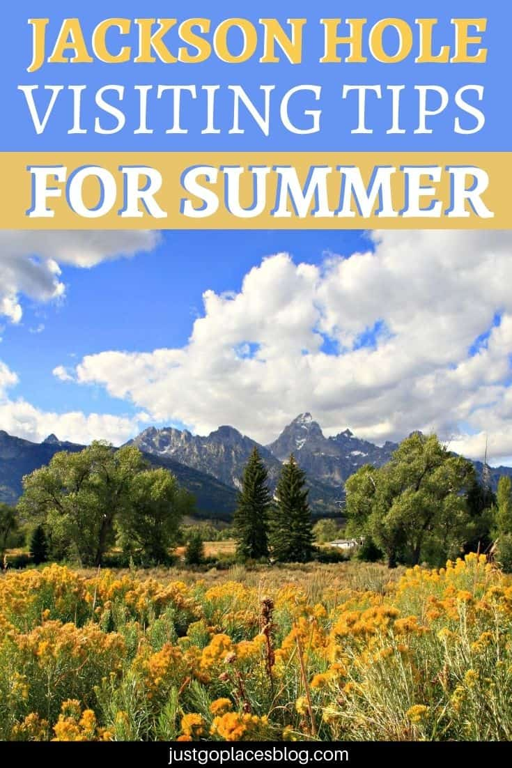 Jackson hole in the summer