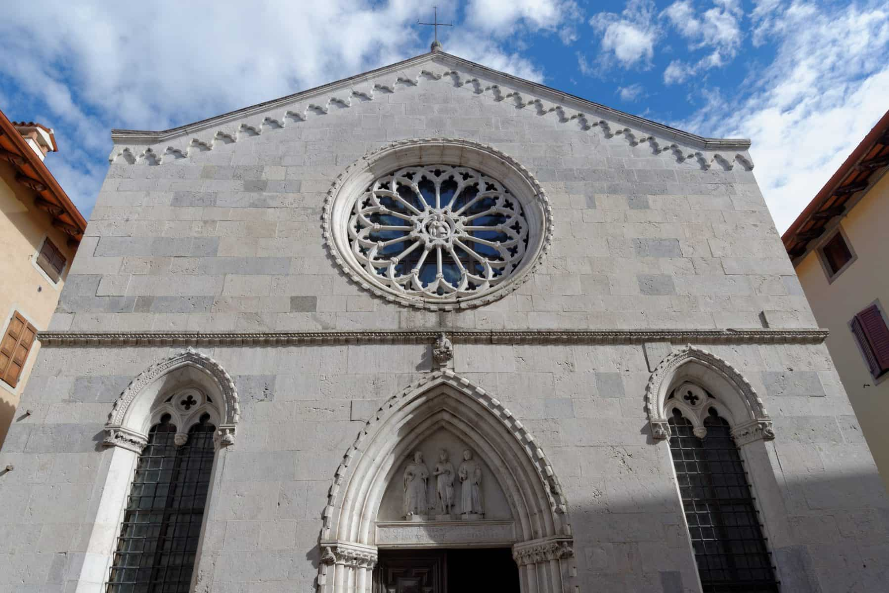 rose window ofChiesa di Sant'Antonio Abate
