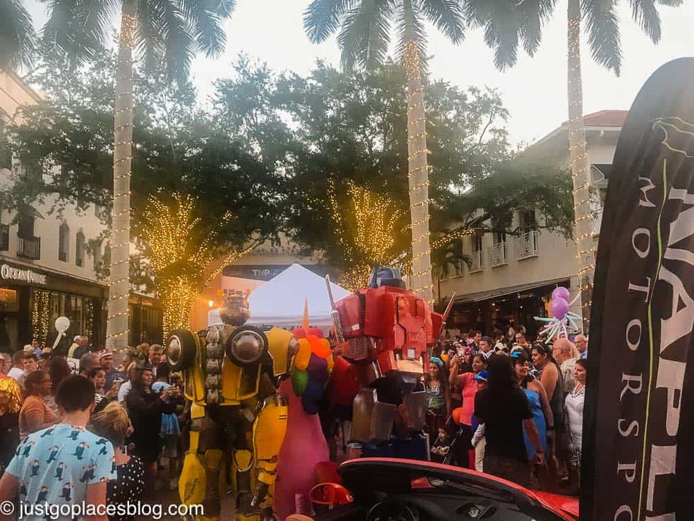 spooktacular on Fifth Avenue South in Naples Florida