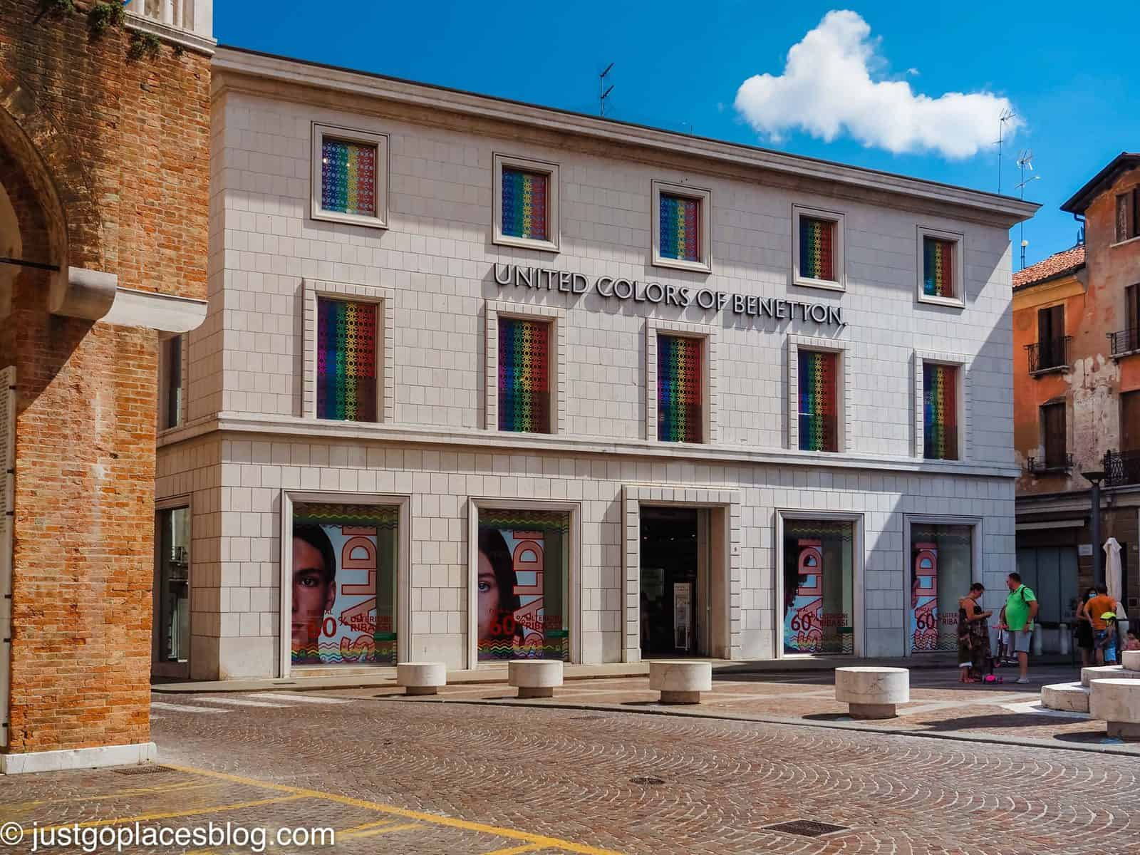 The Benetton flagship store in Treviso