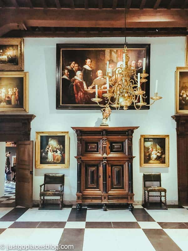 The Knight's Room at Muiderslot Castle Netherlands