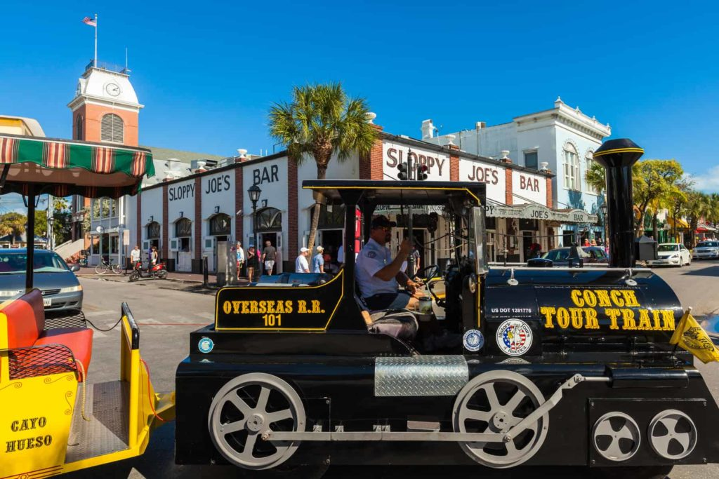 Conch Train in Key West Florida