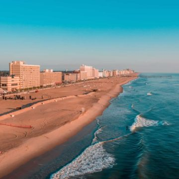 The wide and long Virginia Beach