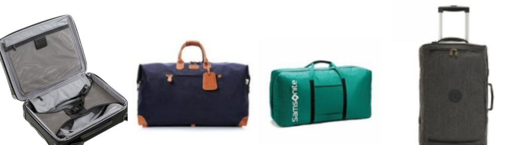 luggage we love - packing cases, weekend bag, duffel bag and carry on