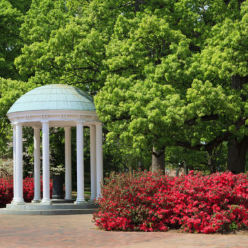 The Old Well at UNC Chapel Hill in North Carolina