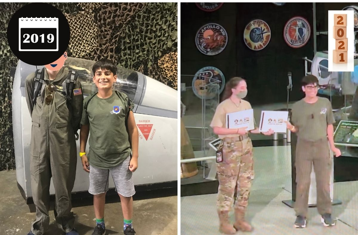 Graduation from Aviation Challenge Space Camp