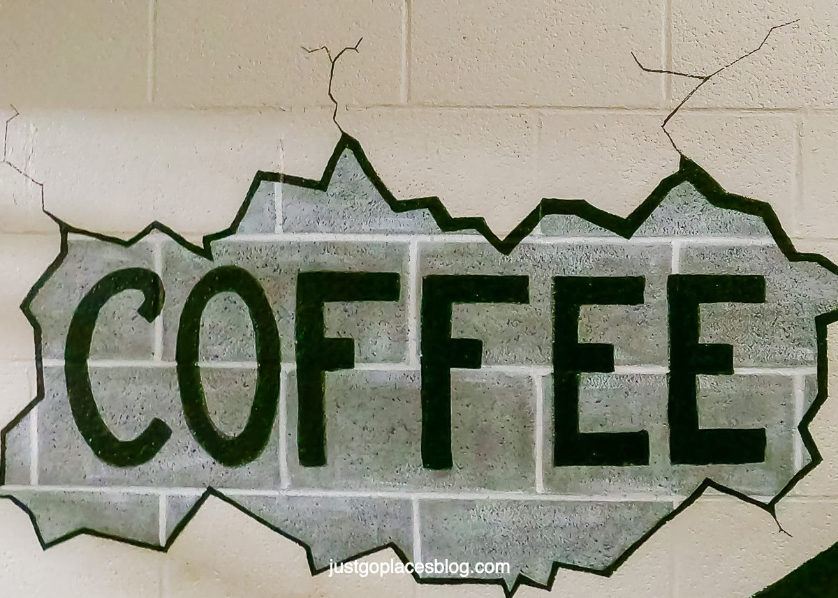 coffee wall art in Lowe mills arts and entertainment